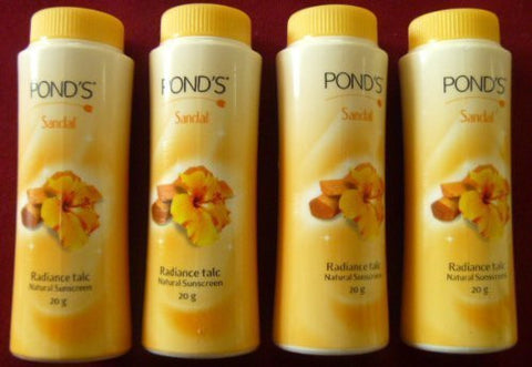 Buy 4 X Ponds Dreamflower Magic Sandalwood Talc Radiance Face Talcum Powder 20g online for USD 6.98 at alldesineeds