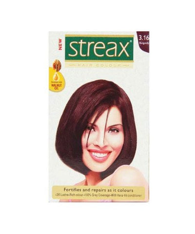 Buy 3 Pack Streax Burgundy Hair Colour No.3.16, 50ml online for USD 11.45 at alldesineeds