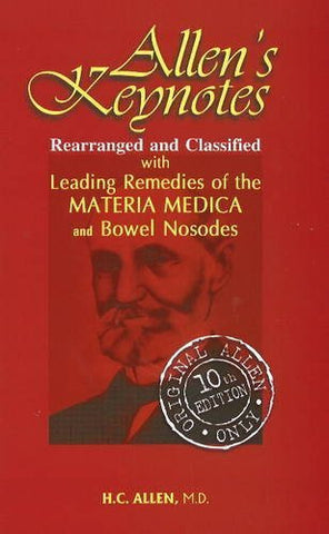 Buy Allen's Key-notes Rearranged & Classified: With Leading Remedies of the Mater online for USD 20.17 at alldesineeds