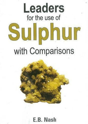 Buy Leaders for the Use of Sulphur with Comparisons [Jan 01, 1997] EUGENE BEAUHAR online for USD 7.42 at alldesineeds