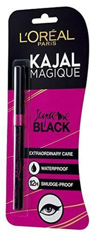 Buy 10 X L'oreal Paris Kajal Magique -Black-0.35 gms each (pack of 10) online for USD 65 at alldesineeds