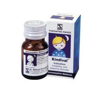3 Pack of Kindival tablets for kids sleep disorder - Schwabe Homeopathy - alldesineeds