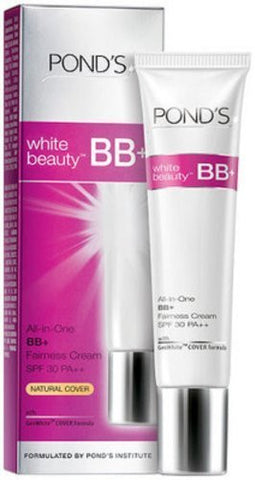 Buy 3 X18g Ponds White Beauty All-in-one Bb+fairness Cream Spf30pa++ online for USD 25.78 at alldesineeds