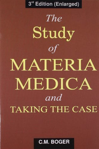 Buy Study of Materia Medica and Taking the Case [Dec 01, 2008] Boger, C.M. online for USD 8.36 at alldesineeds