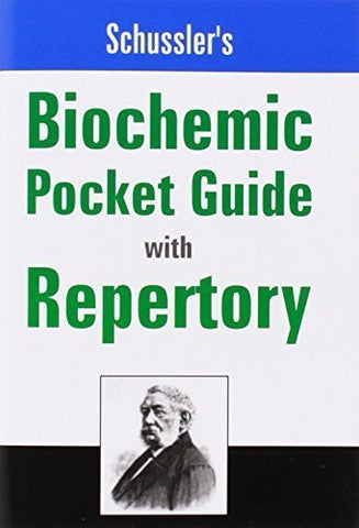 Buy Schussler's Biochemic Pocket Guide With Repertory [Paperback] [Dec 02, 2002] online for USD 7.86 at alldesineeds