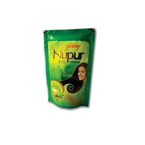 Buy Godrej Nupur Mehendi Powder 9 Herbs Blend-60 Grams online for USD 6.96 at alldesineeds