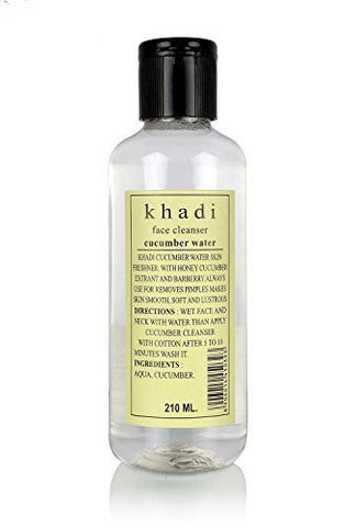 Buy 2 X Khadi Natural Cucumber Water -Toner, 210ml each online for USD 39.11 at alldesineeds