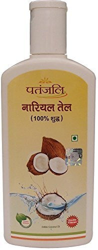 Buy Patanjali Double Filtered Coconut Oil 210ml online for USD 13.85 at alldesineeds