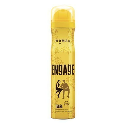 Pack of 2 Engage Woman Deodorant Tease, 150ml each (Total 300 ml) - alldesineeds