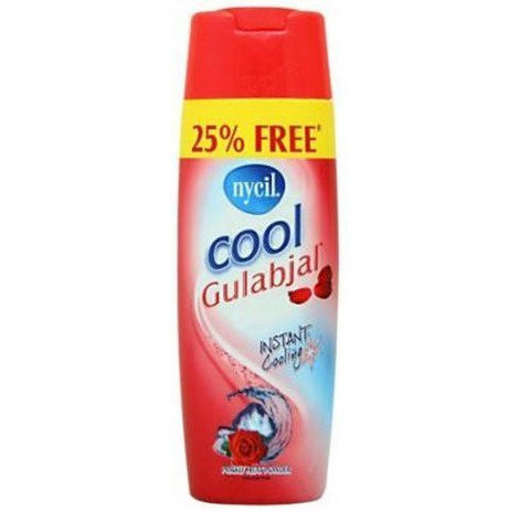 Buy Nycil Cool Gulabjal Instant Cooling Prickly Heat Powder Talc with Rose Fragrance online for USD 9.96 at alldesineeds