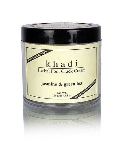 Buy Khadi Jasmine and Green Tea Herbal Foot Crack Cream, 100gm online for USD 9 at alldesineeds