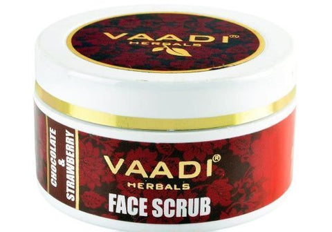 Buy Vaadi Herbals Face Scrub Chocolate & Strawberry 50ml online for USD 13.85 at alldesineeds