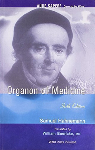 Buy Organon of Medicine: With Word Index [Paperback] [Jun 30, 2004] Samuel Hahnemann online for USD 21.58 at alldesineeds