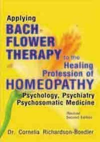 Buy Applying Bach Flower Therapy To The Healing Profession Of Homoeopathy [Paperback online for USD 17.22 at alldesineeds
