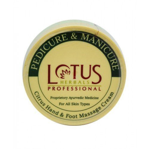 Lotus Professional Pedicure and Manicure Citrus Hand &Foot Cream,250gm - alldesineeds
