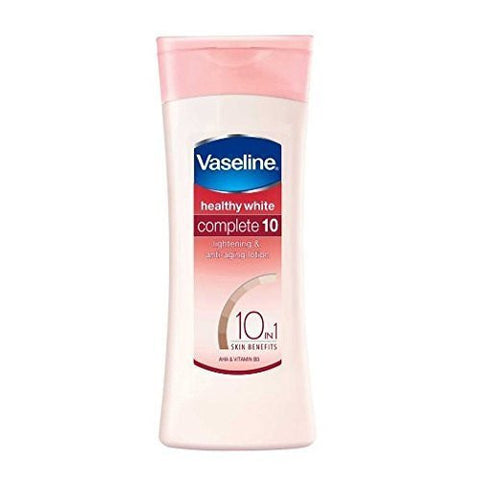 Buy 2 X Vaseline Healthy White Complete 10 Lightening Body Lotion 100ml each online for USD 18.86 at alldesineeds