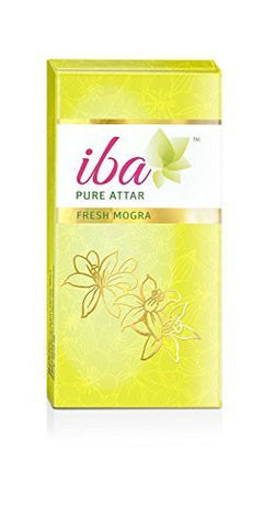 Buy Pack of 2 Iba Halal Care Pure Attar Fresh Mogra, 8ml each (Total 16 ml) online for USD 10.09 at alldesineeds