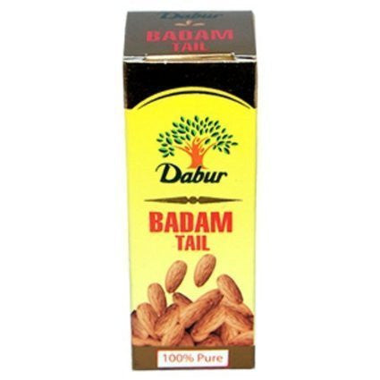 2 Pack Dabur Badam Tail 100ml (Total 200 ml) - alldesineeds