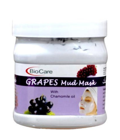 Buy BioCare Grape Mud Mask, 500 ml online for USD 18.75 at alldesineeds