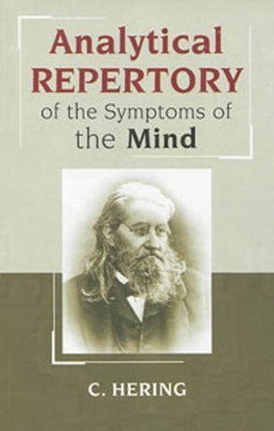 Buy Analytical Repertory of the Symptoms of the Mind Hering, Constantine online for USD 20.07 at alldesineeds