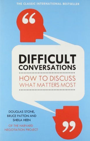 Buy Difficult Conversations: How to Discuss What Matters Most [Paperback] [Nov 03 online for USD 18.17 at alldesineeds