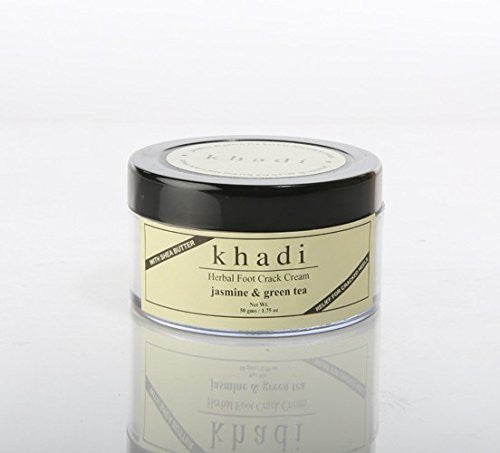 Buy Khadi Jasmine & Green Tea Foot Crack Cream - with Shea Butter - 50 ml online for USD 15.6 at alldesineeds