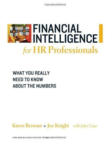 Buy Financial Intelligence for HR Professionals: What You Really Need to Know About online for USD 26.19 at alldesineeds