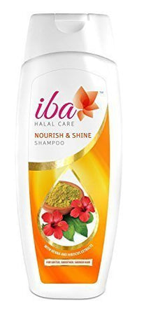 Buy Pack of 2 Iba Halal Care Nourish and Shine Shampoo, 180ml each (Total 360 ml) online for USD 18.99 at alldesineeds