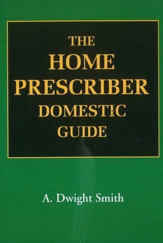 Buy Home Prescriber Domestic Guide [Jan 01, 2004] Smith, A. Dwight online for USD 8.36 at alldesineeds