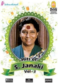 Buy Hits Of Janaki Vol. - 1: TAMIL DVD online for USD 9 at alldesineeds