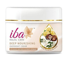 Buy Pack of 2 Iba Halal Care Deep Nourishing Overnight Cream, 50gms each online for USD 11.45 at alldesineeds