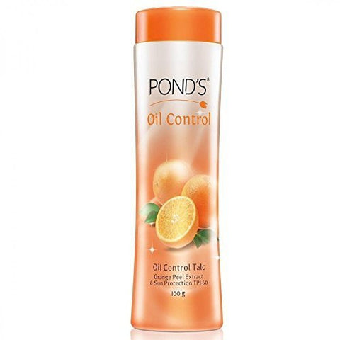 Buy 2 X Ponds Oil Control Talcum Powder - Orange Peel Extract & Sun Protection online for USD 12.87 at alldesineeds