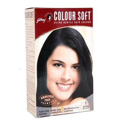 Buy 5 x Godrej COLORsoft Natural Black Hair Color 40 ml each (Total 200ml) online for USD 13.9 at alldesineeds