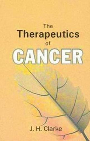 The Therapeutics of Cancer [Apr 01, 2009] Clarke, J. H.] [[ISBN:813191786X]] [[Format:Paperback]] [[Condition:Brand New]] [[Author:Clarke, J. H.]] [[ISBN-10:813191786X]] [[binding:Paperback]] [[manufacturer:B Jain Publishers Pvt Ltd]] [[number_of_pages:97]] [[publication_date:2009-04-01]] [[brand:B Jain Publishers Pvt Ltd]] [[ean:9788131917862]] for USD 13.02