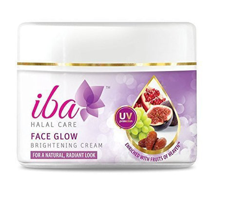 Pack of 3 Iba Halal Care Face Glow Brightening Cream, 50gms each (Total 150 gms) - alldesineeds