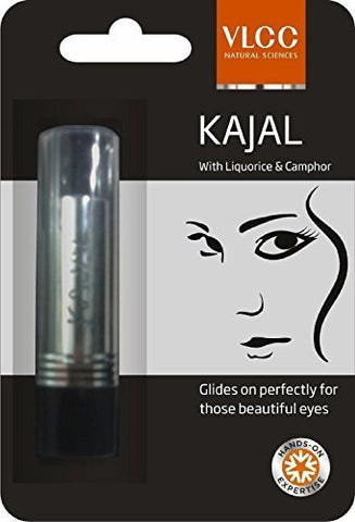 Buy 10 X Vlcc Natural Sciences Kajal, 3gm, Black (Pack of 10) online for USD 27 at alldesineeds
