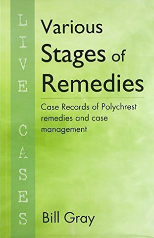 Buy Various Stages of Remedies [Mar 01, 2010] Bill Gray online for USD 14.34 at alldesineeds