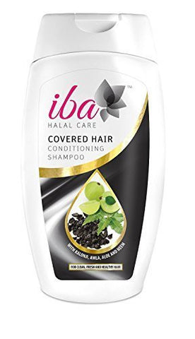 Buy Pack of 2 Iba Halal Care Covered Hair Conditioning Shampoo, 180ml each (Total online for USD 14.85 at alldesineeds
