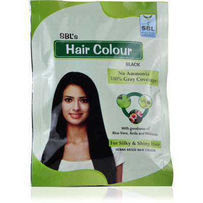 SBL Hair Color Black 1Box - alldesineeds
