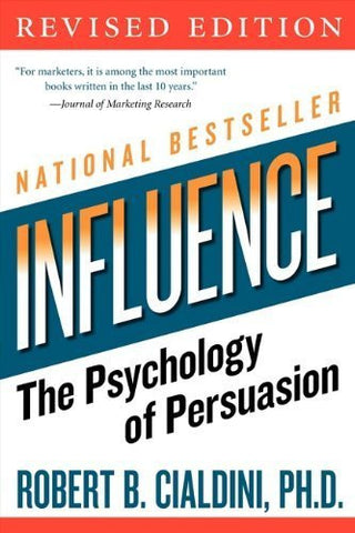 Buy influence: The Psychology of Persuasion [Paperback] [Dec 26, 2006] Cialdini, online for USD 23.8 at alldesineeds
