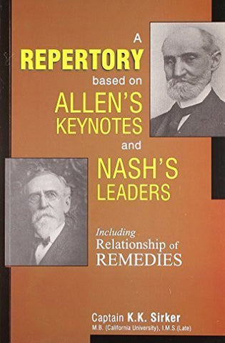 Buy A Repertory Based on Allen's Key Notes and Nash's Leaders With Relationship online for USD 19.62 at alldesineeds