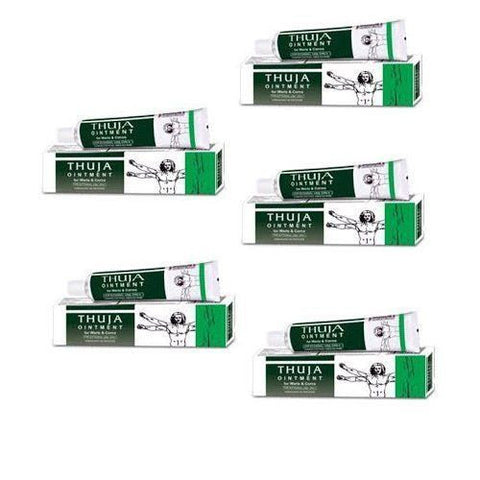 Bakson's Homeopathy - Thuja Ointment For Warts and Corns 1 x 25 Grams - alldesineeds