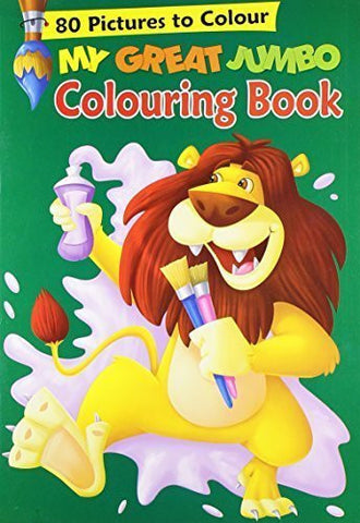 Buy My Great Jumbo Colouring Book: 80 Big Pictures to Colour [Apr 19, 2010] B Jain online for USD 8.4 at alldesineeds