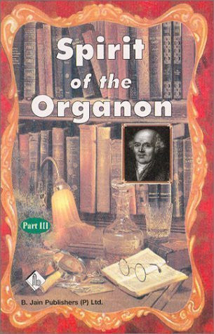 Buy Spirit of the Organon: Part III [Apr 20, 2001] Mondal, Dr. Tapan Chandra online for USD 34.98 at alldesineeds