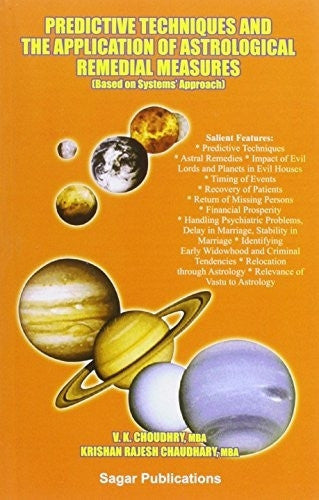 Buy Predictive Techniques and the Application for Astrological Remedial Measures online for USD 16.87 at alldesineeds