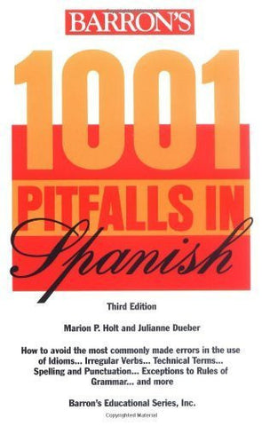 Buy 1001 Pitfalls in Spanish [Jan 01, 1997] Holt, Marion P. and Dueber, Julianne online for USD 17.35 at alldesineeds
