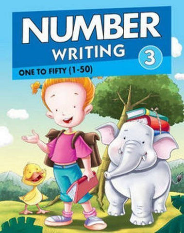 Buy Number Writing 3: One to Fifty (1 to 50) [Feb 10, 2015] Pegasus online for USD 7.86 at alldesineeds