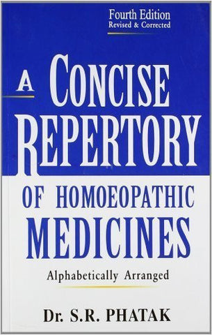 Buy A Concise Repertory of Homeopathic Medicines [Paperback] [Jun 30, 2002] S. R online for USD 30.4 at alldesineeds