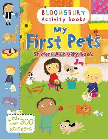 My First Pets Sticker Activity Book: With Over 300 Stickers [Paperback] [Apr] [[ISBN:1408855224]] [[Format:Paperback]] [[Condition:Brand New]] [[ISBN-10:1408855224]] [[binding:Paperback]] [[manufacturer:Bloomsbury Publishing PLC]] [[number_of_pages:16]] [[publication_date:2016-03-10]] [[brand:Bloomsbury Publishing PLC]] [[ean:9781408855225]] for USD 13.2