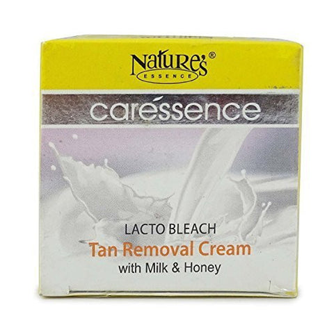 Buy Pack of 2 Nature's Essence Caressence Lacto Bleach Tan Removal Cream with Mil... online for USD 13.23 at alldesineeds